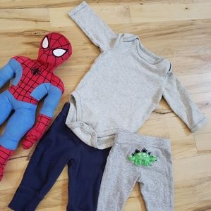 Long sleeve Outfit bundle with 2pants